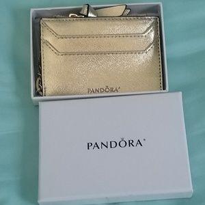 Pandora card wallet NWT